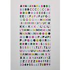 Mini Puffy Alphabet Stickers  - August 20  Add On