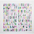 Puffy Alphabet Stickers  - August 20  Add On