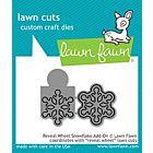 Reveal Wheel Snowflake Add on - Lawn Cuts - Lawn Fawn