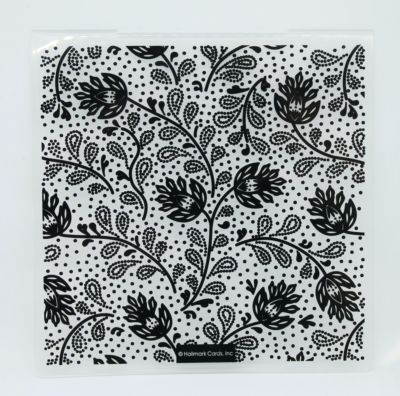 Thistle Background - Embossing Folder - July 20 Add On