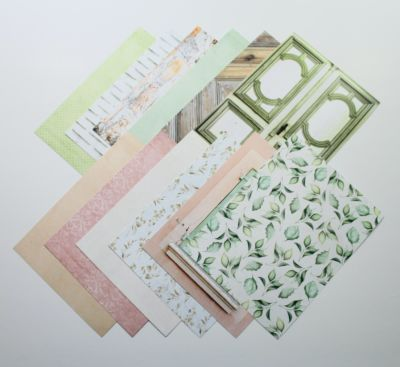 Love You Always - Heavyweight Patterned Papers - 6x8 Inches - July 20 Add-on