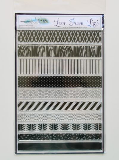 Stripes And Borders - LFL Stamp Set