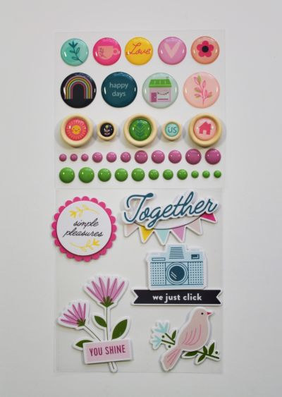 Mixed Embellishment Pack - August 20 Add On