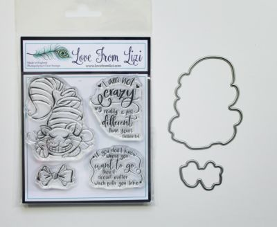 I'm Not Crazy - LFL Stamp And Die Set - September 20 Add On