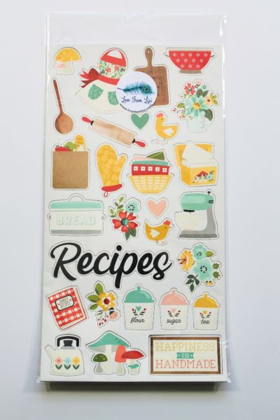 Chipboard Stickers - October 20 Add On