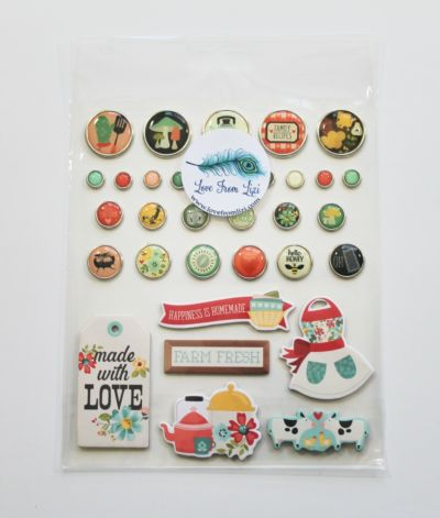 Enamel and Metal Brads - October 20 - Add-On