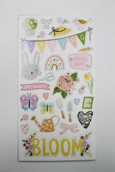 Chipboard Stickers - March 21 Add-On