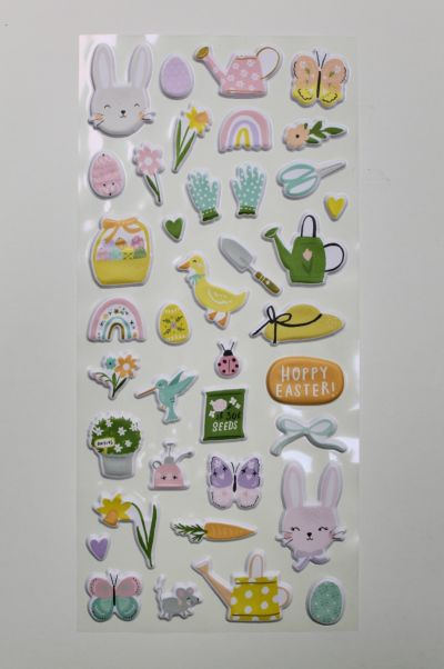 Puffy Stickers  - March 21 Add On