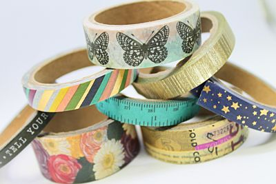 Washi Tape - August 21 Add-On