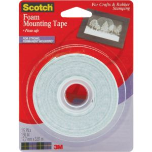 Regular Scotch® Double-Sided Foam Mounting Tape