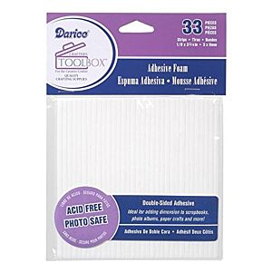 Darice Double-Sided Foam Strips