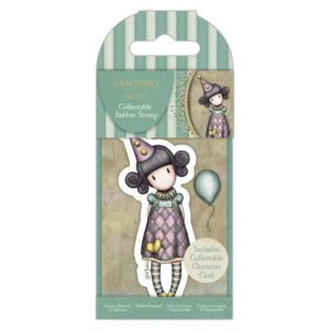 Small Santoro Stamp - Pierrot