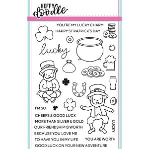Lucky Friends Stamps - Heffy Doodle