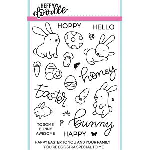 Honey Bunny Boo Stamps - Heffy Doodle