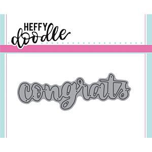 Congrats - Heffy Cuts Dies - Heffy Doodle