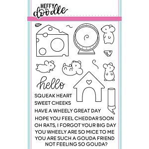 Hello Squeakheart Stamps - Heffy Doodle