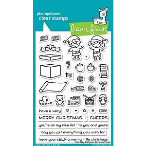 Holiday Helpers - Stamps - Lawn Fawn
