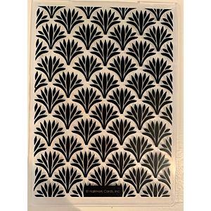 Art Deco Embossing Folder