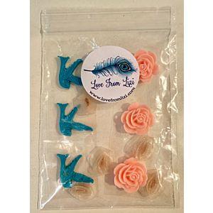 Lucky Bluebird Embellishment Pack