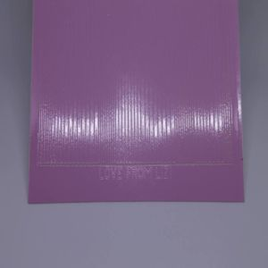 Pin Stripe Peel-Off Stickers - Pink