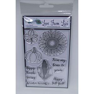 Happy Harvest - LFL  Stamp Set - Thanks Giving 17