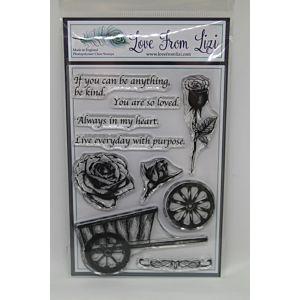 Winter Rose - LFL Stamp Set - December 17
