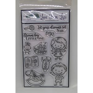 New Beginnings - LFL Stamp Set - January 18