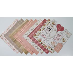 Love You - Heavyweight Specialty Papers - 8x8 Inches
