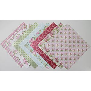 Tea and Cake - Heavyweight Specialty Papers - 8x8 Inches