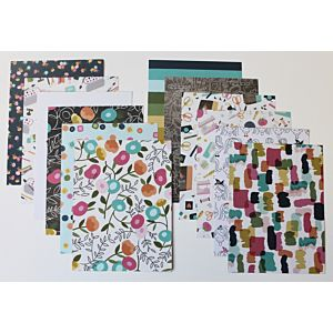 Crafty Girl - Heavyweight Patterned Papers - 6x8 Inches - June 18 Add-on