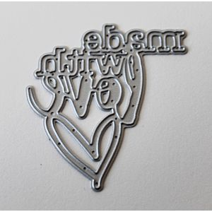 Made With Love - Cutting Die