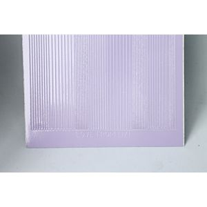 Pin Stripe Peel-Off Stickers - Lilac