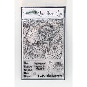 Let's Shellabrate - LFL Stamp Set - July 18