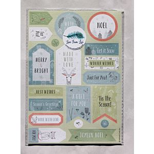 Festive Forest Die Cut Sentiment Tags - LFL November 18 - Add On