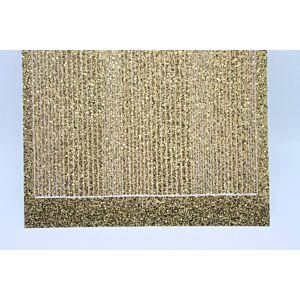 Pin Stripe Peel-Off Stickers - Gold Glitter