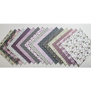 Papillon - Patterned Papers - 6x6 Inches
