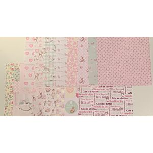 "Sugar and Spice - 8x8"" Patterned Papers"