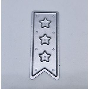 Small Bunting With Stars - Cutting Die