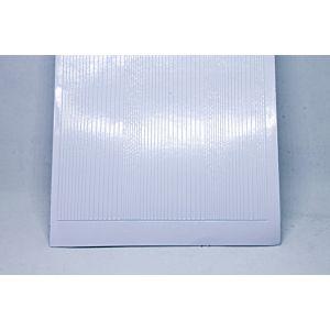 Pin Stripe Peel-Off Stickers - White