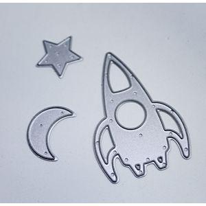 Rocket Moon And Star Dies