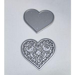 Layering Hearts Dies