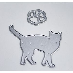 Cat With Paw Print Dies