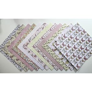 """Fairy Garden 8""""x8"""" Patterned Papers"""