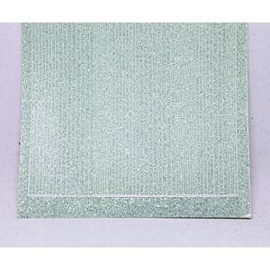 Pin Stripe Peel-Off Stickers - Mint Glitter