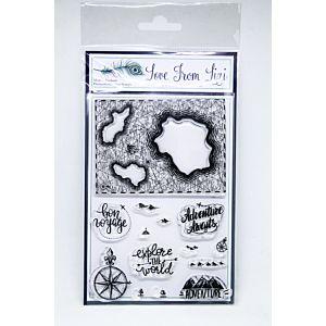 Bon Voyage Stamp Set