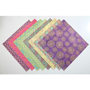 Indian Summer - Heavyweight Speciality Papers - 8x8 Inches