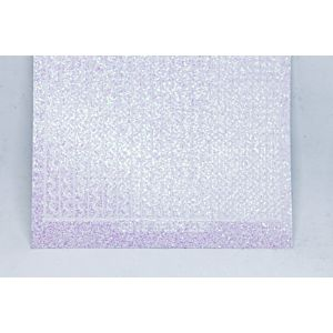 Sway Peel-Off Stickers - Clear Iridescent Glitter