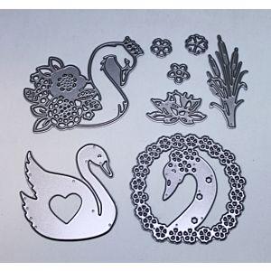 Sending Love Swan Cutting Dies