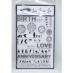 Flawless Sentiments Stamp Set - August 19 Add On