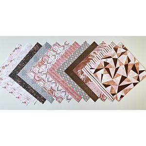 """Flawless 8x8"""" Patterned Papers - August 19 Add On"""